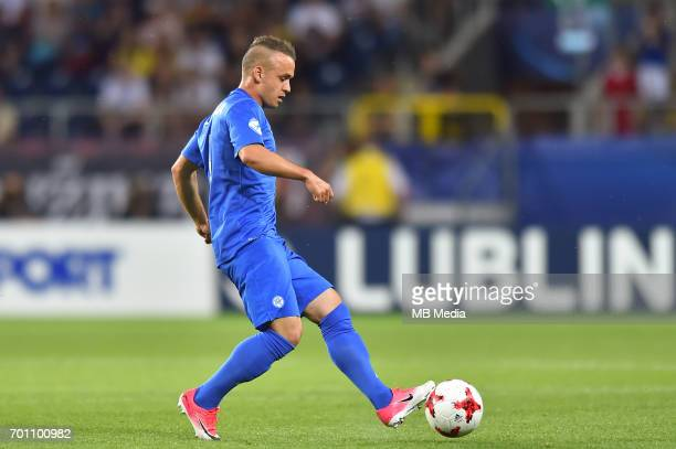 Stanislav Lobotka during the UEFA European Under21 match between Slovakia and Sweden at Arena Lublin on June 22 2017 in Lublin Poland