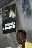 Stanley BienAime is being treated at the Doctor's Without Borders Cholera Treatment Center in Delmas 33 August 28 a few days after Tropical Storm...