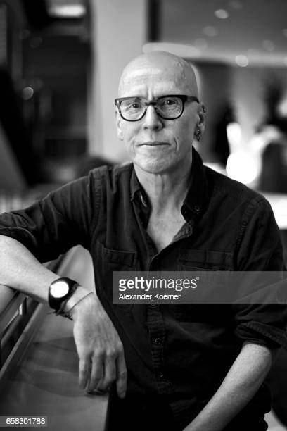 Stanley Donwood poses at the 'The Bomb' portrait session during the 67th Berlinale International Film Festival Berlin at Berlinale Palace on February...