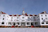 The historic Stanley Hotel in Estes Park, CO.