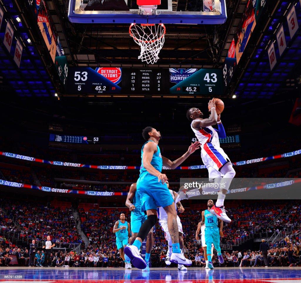 Charlotte Hornets v Detroit Pistons