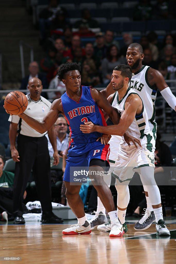 Detroit Pistons v Milwaukee Bu...