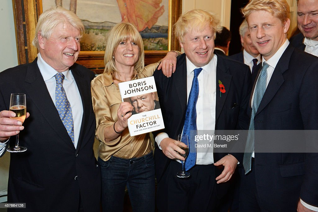 """""""The Churchill Factor: How One Man Made History"""" by Boris Johnson - Book Launch Party"""