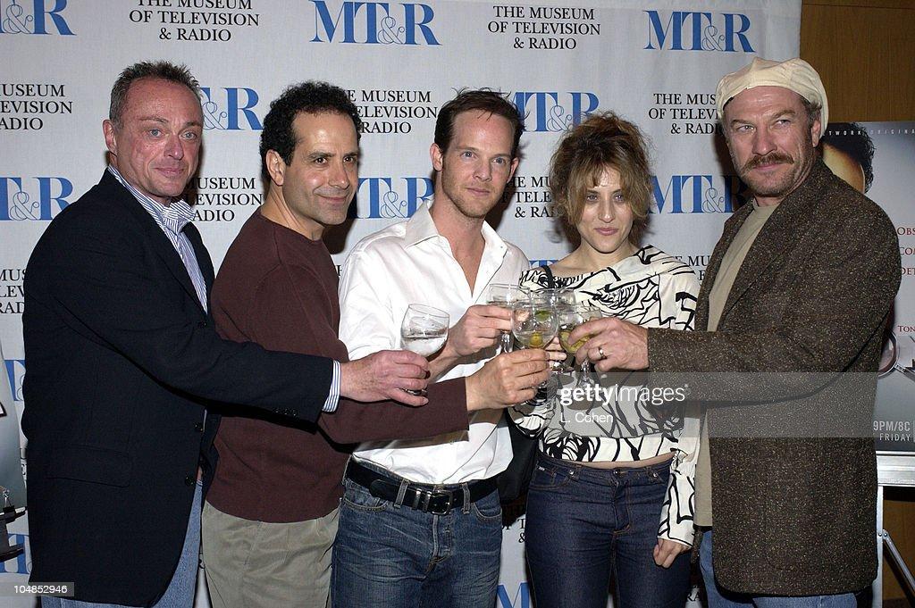 Stanley Kamel actor / producer Tony Shalhoub Jason GrayStanford Bitty Schram and Ted Levine