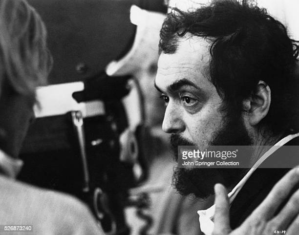 Stanley Kubrick on the set of A Clockwork Orange The 1971 film tells the story of a violent gang member who goes through aversion therapy