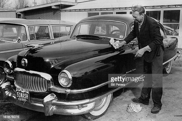 FEB 22 1980 FEB 28 1980 MAR 1 1980 Stanley Nerad Of 4955 Howell St Golden Puts Shine To His 1951 Nash Ambassador Nerad a member of Nash Car Club gets...