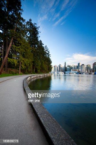 Stanley Park Seawall  Vancouver, BC
