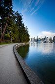 'Stanley Park Seawall  Vancouver, BC'
