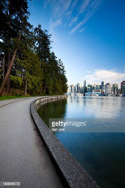Stanley Park Seawall  Vancouver, BC
