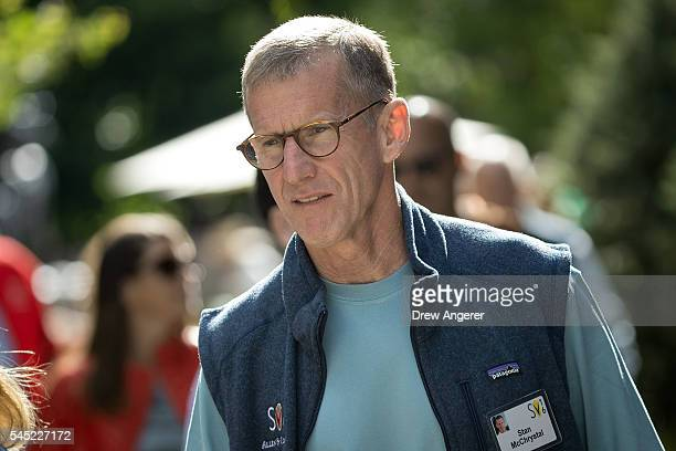 Stanley Stanley A McChrystalMcChrystal retired US Army general and former commander of Joint Special Operations Command attends the annual Allen...