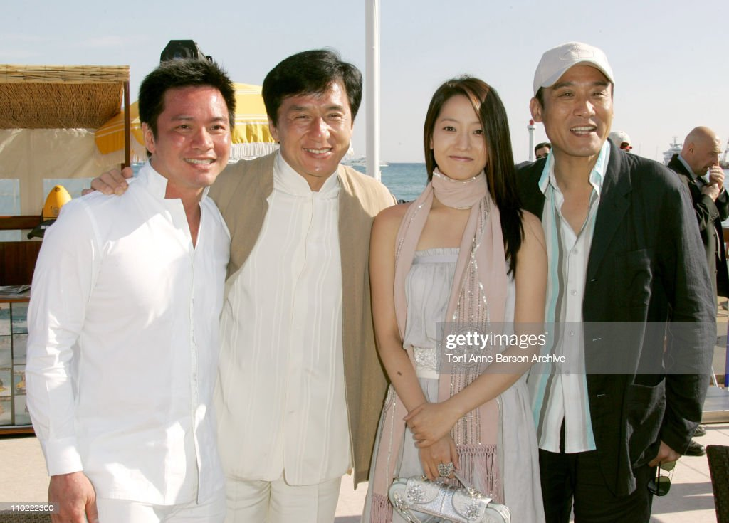 Stanley Tong, <a gi-track='captionPersonalityLinkClicked' href=/galleries/search?phrase=Jackie+Chan&family=editorial&specificpeople=171455 ng-click='$event.stopPropagation()'>Jackie Chan</a>, Heeseon Kim and Tony Leung Ka-fai
