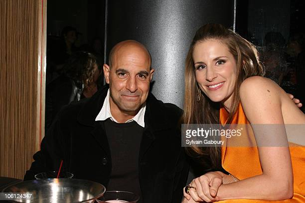 Stanley Tucci and Emily Robison of Dixie Chicks during The Weinstein Company Premiere of 'Shut Up Sing' After Party at Ultra at 37 West 26th Street...