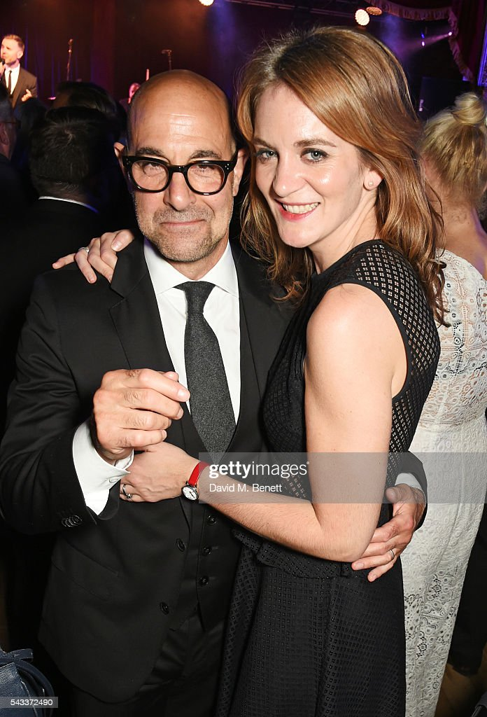 <a gi-track='captionPersonalityLinkClicked' href=/galleries/search?phrase=Stanley+Tucci&family=editorial&specificpeople=209366 ng-click='$event.stopPropagation()'>Stanley Tucci</a> (L) and <a gi-track='captionPersonalityLinkClicked' href=/galleries/search?phrase=Felicity+Blunt&family=editorial&specificpeople=2352501 ng-click='$event.stopPropagation()'>Felicity Blunt</a> attend the Summer Gala for The Old Vic at The Brewery on June 27, 2016 in London, England.