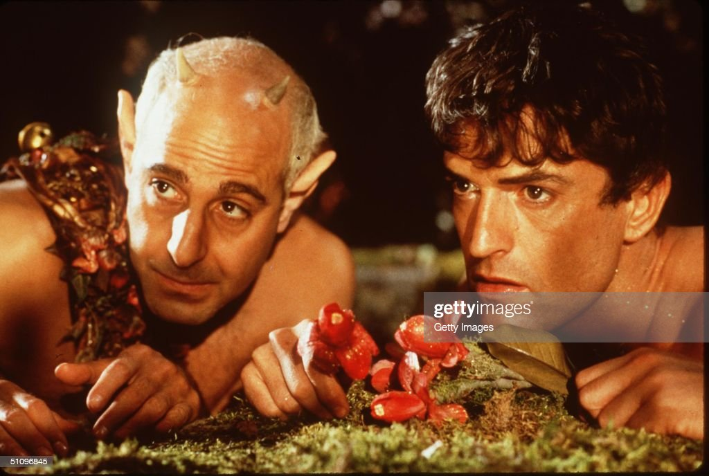 Stanley Tucci And Rupert Everett Star In The Movie 'William Shakespeare's A Midsummer Night's Dream'