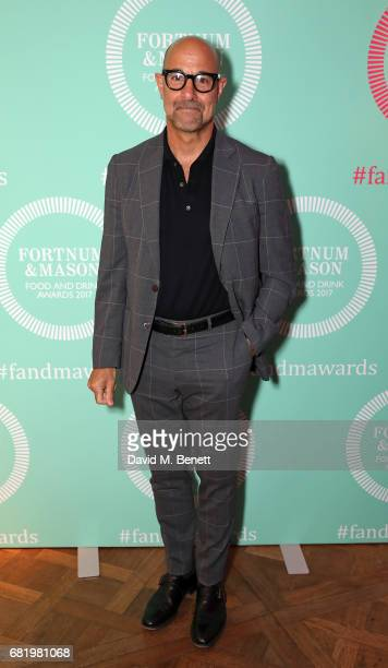 Stanley Tucci at the fifth annual Fortnum Mason Food and Drink Awards on May 11 2017 in London England