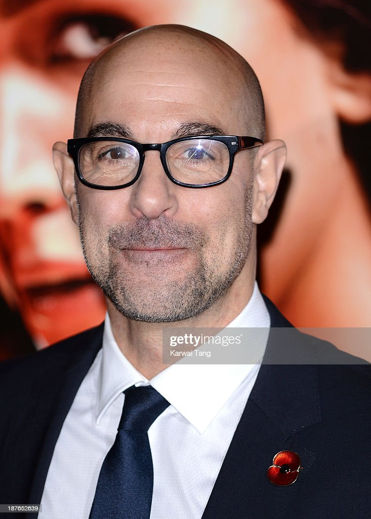 Stanley Tucci attends a photocall for 'The Hunger Games: Catching Fire' held at the Corinthia Hotel on November 11, 2013 in London, England.