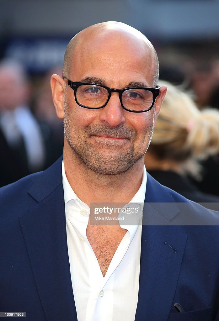 <a gi-track='captionPersonalityLinkClicked' href=/galleries/search?phrase=Stanley+Tucci&family=editorial&specificpeople=209366 ng-click='$event.stopPropagation()'>Stanley Tucci</a> attends a special screening of 'Iron Man 3' at Odeon Leicester Square on April 18, 2013 in London, England.