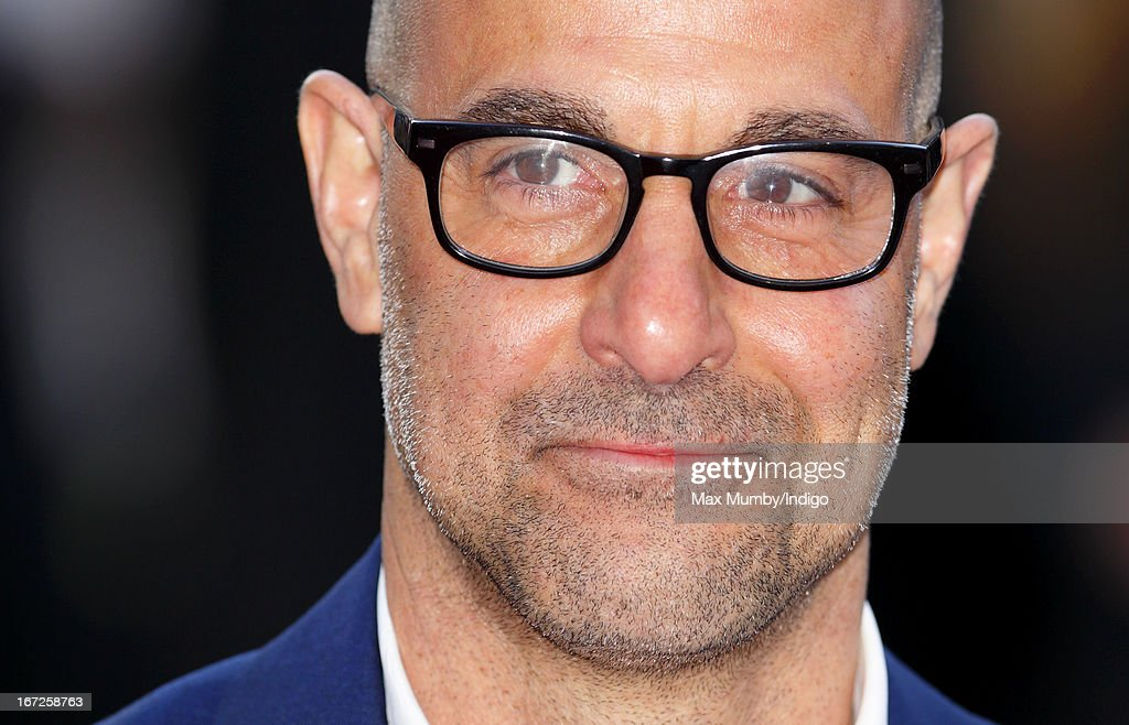 Stanley Tucci attends a special screening of 'Iron Man 3' at Odeon Leicester Square on April 18, 2013 in London, England.