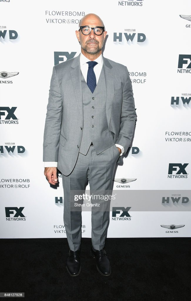 Stanley Tucci attends FX and Vanity Fair Emmy Celebration at Craft on September 16, 2017 in Century City, California.