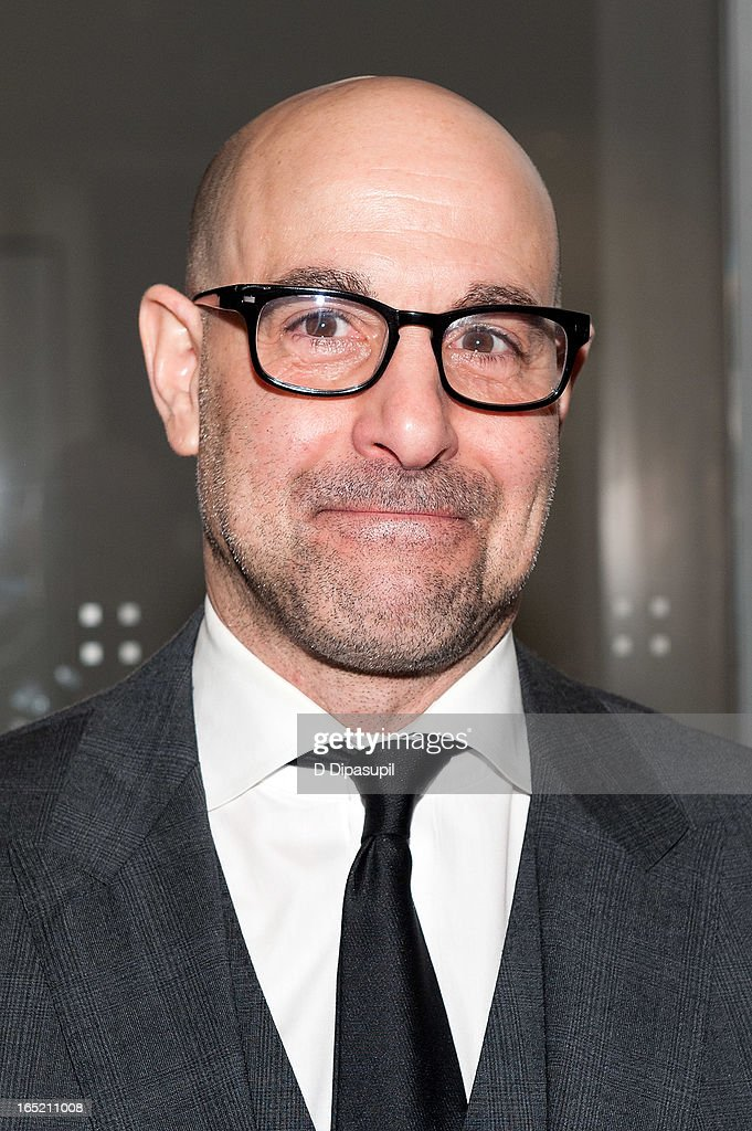 Stanley Tucci attends 'The Company You Keep' New York Premiere at The Museum of Modern Art on April 1 2013 in New York City