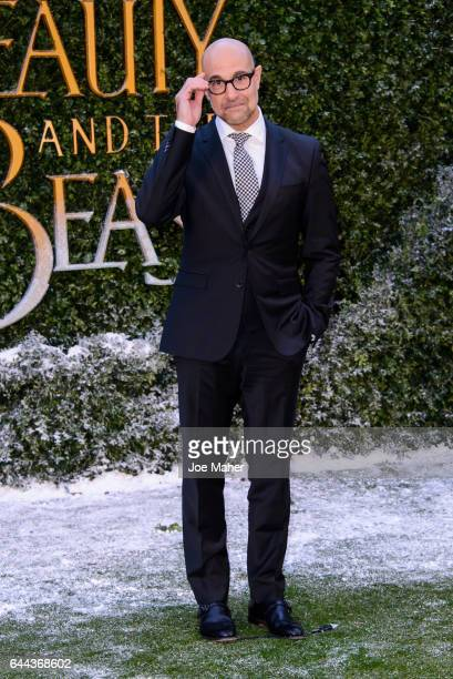 Stanley Tucci attends UK launch event for 'Beauty And The Beast' at Spencer House on February 23 2017 in London England