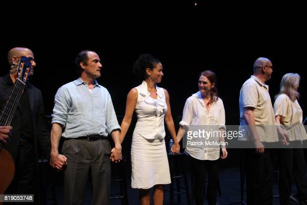 Stanley Tucci Elias Koteas Gloria Reuben Juliane Moore Alfred Molina and Meryl Streep attend THE PUBLIC THEATRE Presents a OneNightOnly Benefit...