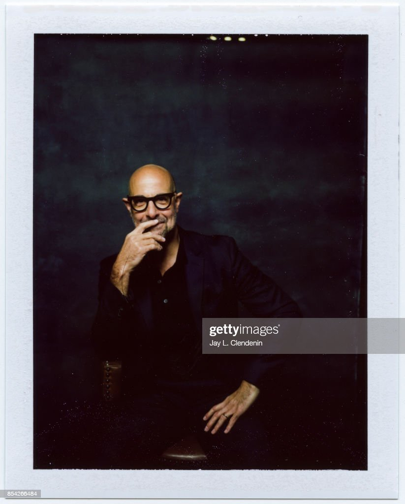 Stanley Tucci, from the film 'The Children Act,' is photographed on polaroid film at the L.A. Times HQ at the 42nd Toronto International Film Festival, in Toronto, Ontario, Canada, on September 08, 2017.