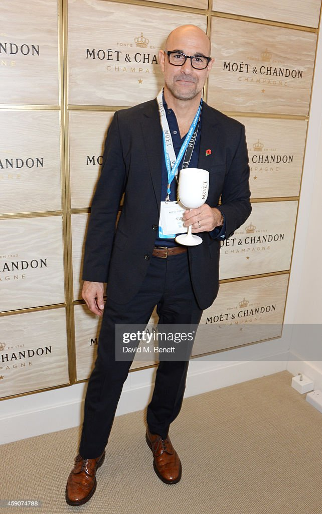Celebrities Toast With Moet & Chandon To The Winner Of The 2014 Barclays ATP World Tour Finals