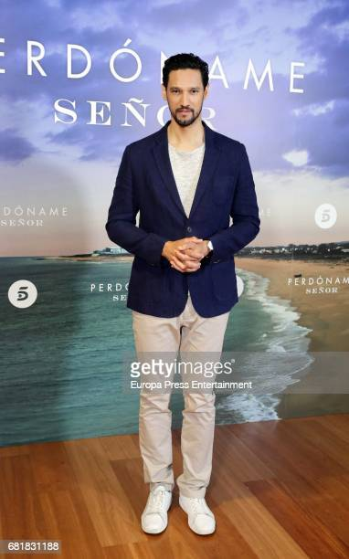 Stany Coppet attends the 'Perdoname Senor' photocall at Mediaset Studios on May 10 2017 in Madrid Spain