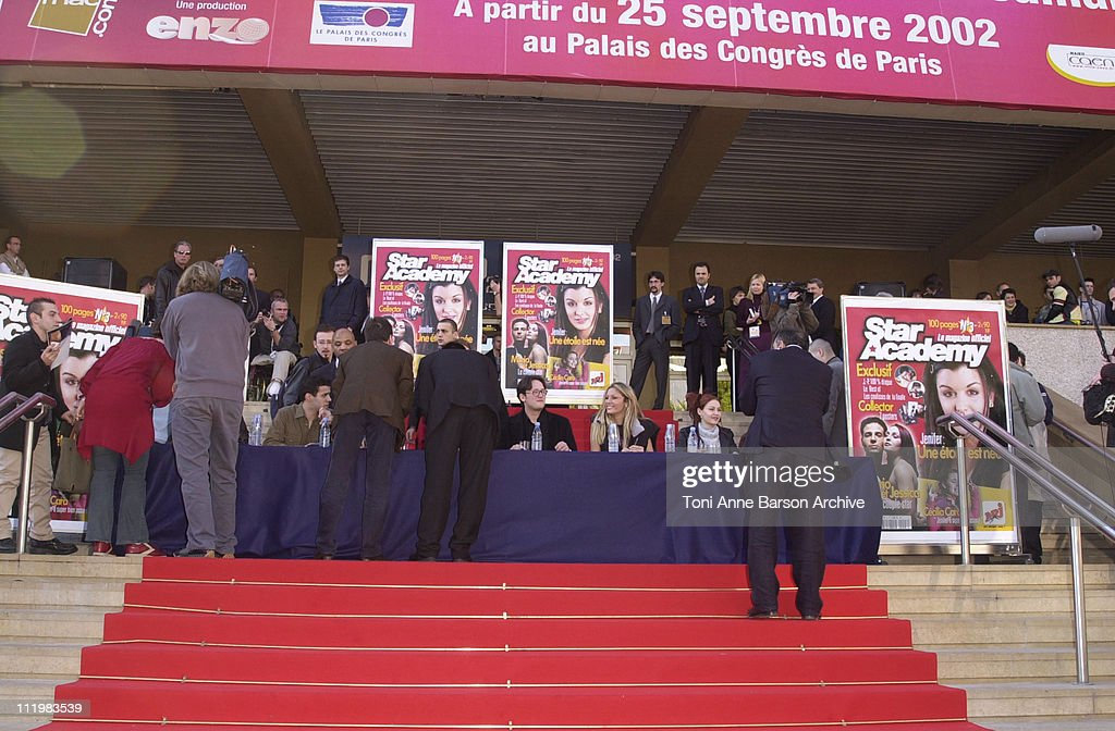 Star Academy 1 during Midem 2002 Star Academy Autographs Session at Palais des Festivals in Cannes France