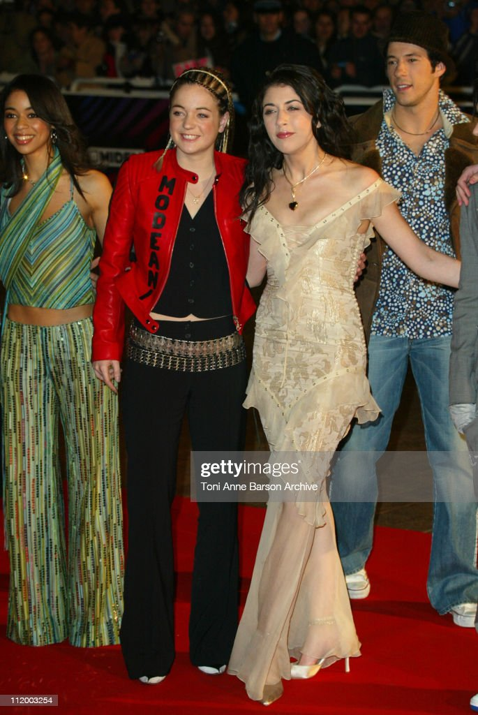 Star Academy 2 Nolwenn Leroy during NRJ Music Awards 2003 Cannes Arrivals at Palais des Festivals in Cannes France