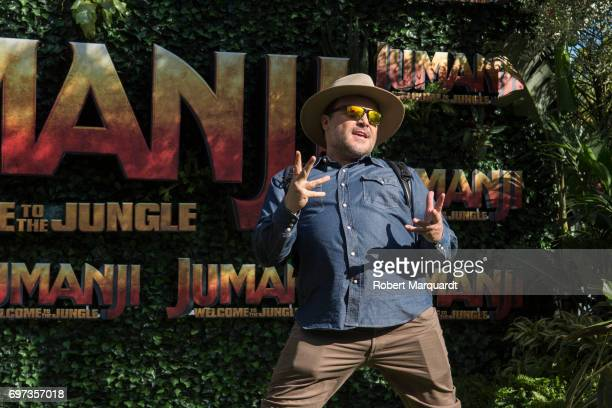 'JUMANJI WELCOME TO THE JUNGLE' star actor Jack Black appears in Barcelona on the occasion of the CineEurope event on June 18 2017 in Barcelona Spain