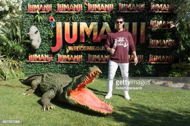 'JUMANJI WELCOME TO THE JUNGLE' star actor Nick Jonas appears in Barcelona on the occasion of the CineEurope event on June 18 2017 in Barcelona Spain