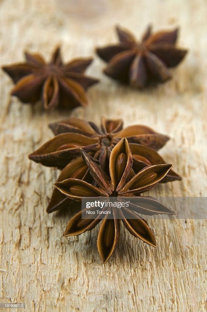 Star anise (Illicium verum) : Stock Photo
