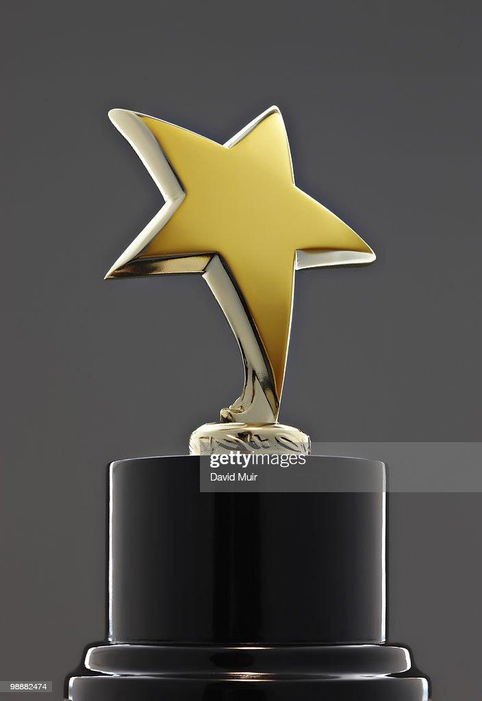 star award trophy  : Stock Photo