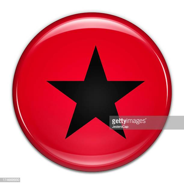 Star Button (with clipping path)
