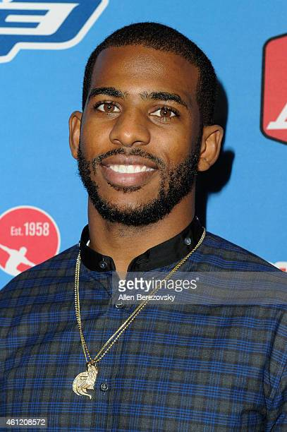NBA star Chris Paul attends attends the 6th Annual CP3 PBA Celebrity Invitational presented by AMF hosted by LA Clippers allstar guard Chris Paul at...