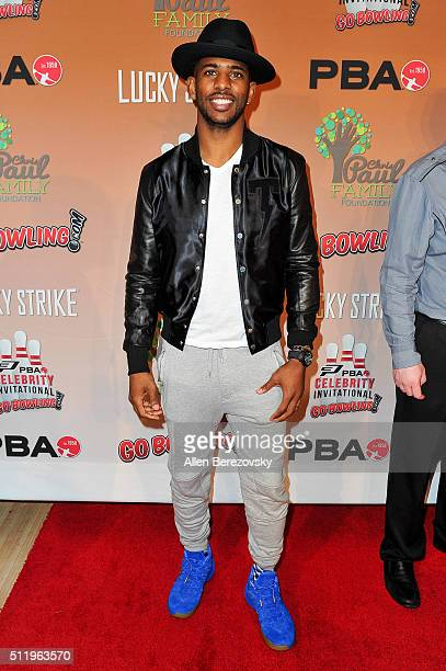 NBA star Chris Paul hosts the CP3 PBA Celebrity Invitational Charity Bowling Tournament presented by GoBowlingcom at Lucky Strike Lanes at LA Live on...