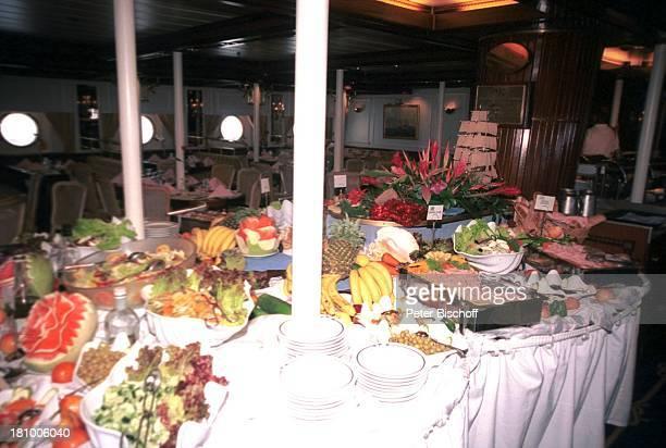 Star Clipper Reise Kreuzfahrt von Mexico über Honduras nach Belize/Mittelamerika Buffet Abendessen Segelschiff unter Deck Bullauge