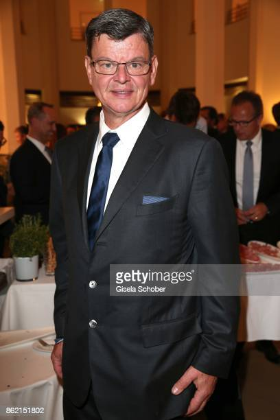 Star cook Harald Wohlfahrt during the 2oth 'Busche Gala' at The Charles Hotel on October 16 2017 in Munich Germany
