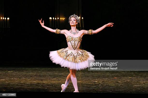 Star Dancer Dorothee Gilbert performs in the Ballet 'Casse Noisette' during the Matinee 'Reve d'enfants' with Ballet 'Casse Noisette' Organized by...