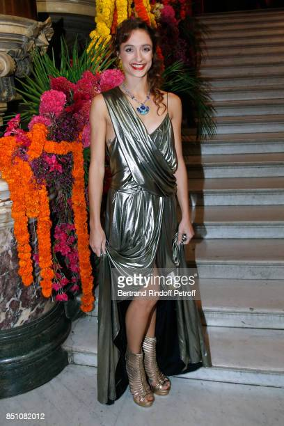 Star Dancer Dorothee Gilbert wearing Jewelry Piaget attends the Opening Season Gala Ballet of Opera National de Paris Held at Opera Garnier on...