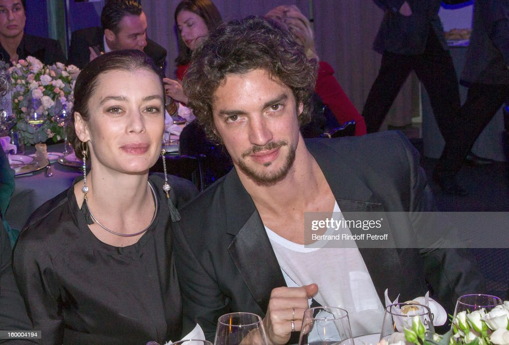 Star dancers Aurelie Dupont and Jeremie Belingard attend the Sidaction Gala Dinner 2013 at Pavillon d'Armenonville on January 24, 2013 in Paris, France.