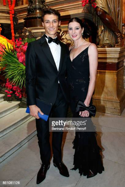 Star Dancers Hugo Marchand and MarieAgnes Gillot attend the Opening Season Gala Ballet of Opera National de Paris Held at Opera Garnier on September...