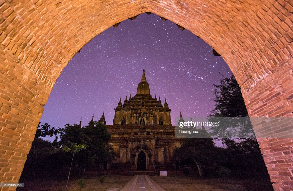 Star in Sulamani temple, Bagan