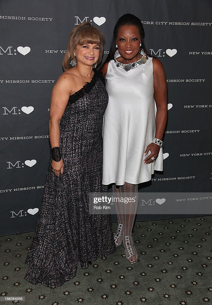 <a gi-track='captionPersonalityLinkClicked' href=/galleries/search?phrase=Star+Jones&family=editorial&specificpeople=202645 ng-click='$event.stopPropagation()'>Star Jones</a> (R) and Kathryn C. Chenault attend the 200th Anniversary New York City Mission Society Gala Dinner at The Pierre Hotel on December 12, 2012 in New York City.