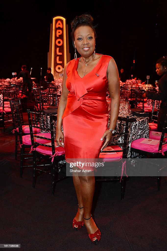 <a gi-track='captionPersonalityLinkClicked' href=/galleries/search?phrase=Star+Jones&family=editorial&specificpeople=202645 ng-click='$event.stopPropagation()'>Star Jones</a> attends 2013 Dining With The Divas at The Apollo Theater on February 14, 2013 in New York City.