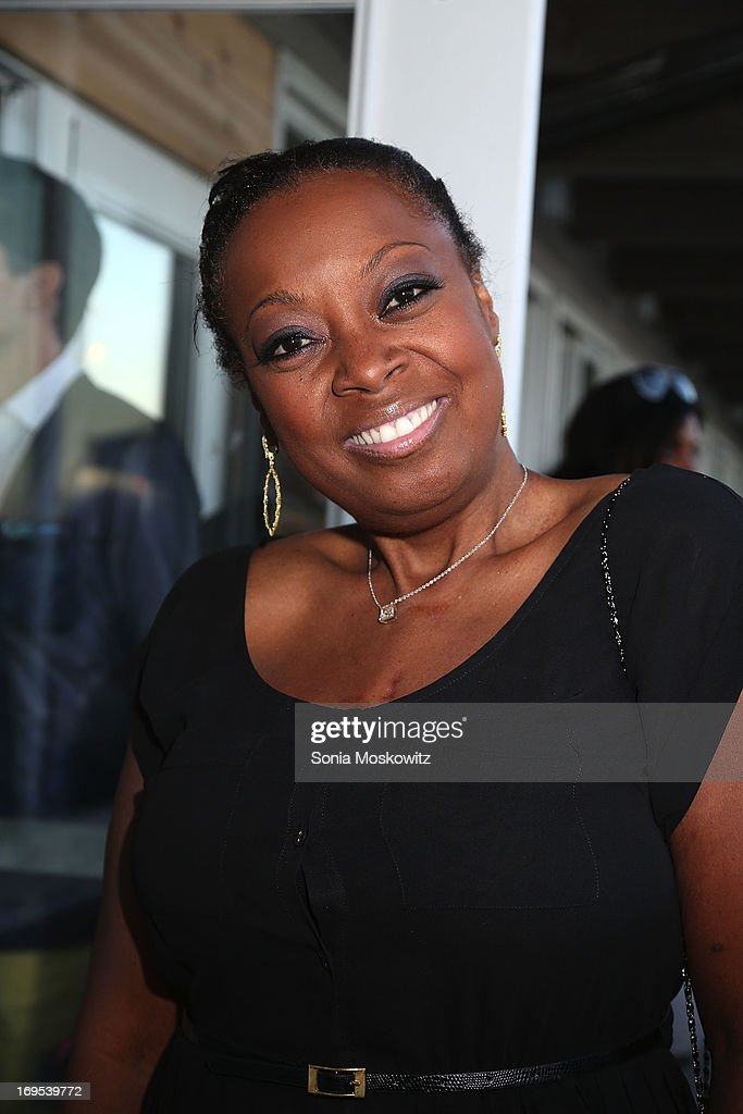 <a gi-track='captionPersonalityLinkClicked' href=/galleries/search?phrase=Star+Jones&family=editorial&specificpeople=202645 ng-click='$event.stopPropagation()'>Star Jones</a> attends Haley & Jason Binn's Annual DuJour Summer Kick Off Soiree with The Borgata Hotel & Casino at Bridgehampton Tennis and Surf Club on May 26, 2013 in Bridgehampton, New York.