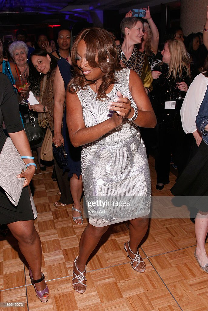 <a gi-track='captionPersonalityLinkClicked' href=/galleries/search?phrase=Star+Jones&family=editorial&specificpeople=202645 ng-click='$event.stopPropagation()'>Star Jones</a> attends NAPW 2014 Conference at Marriott Marquis Hotel on April 24, 2014 in New York City.