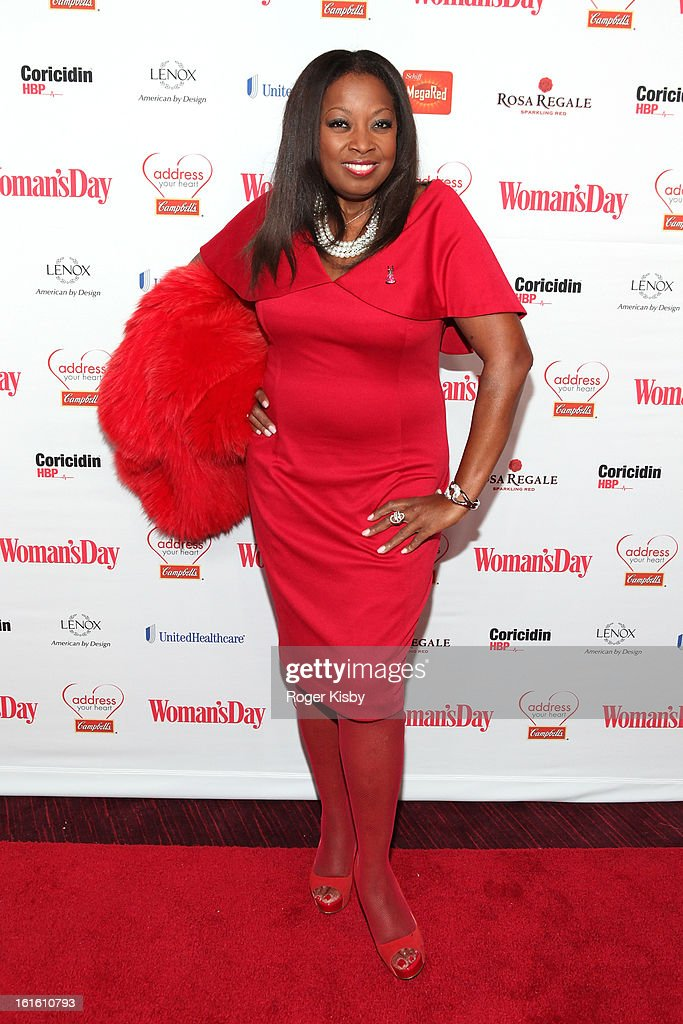 <a gi-track='captionPersonalityLinkClicked' href=/galleries/search?phrase=Star+Jones&family=editorial&specificpeople=202645 ng-click='$event.stopPropagation()'>Star Jones</a> attends the 10th Annual Red Dress Awards at Jazz at Lincoln Center on February 12, 2013 in New York City.